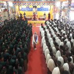 Honorable Dasho Dzongda visits School to provide certificate for recepient of HMs certificate for outstanding performance in academics.